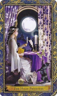 Tiết lộ Mặt Trăng – The High Priestess bài tarot