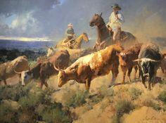 "Bill Anton- ""Texas Legacy"" 24 x 32  Oil"