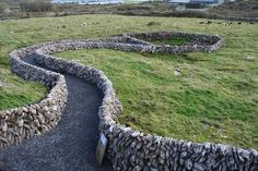 Artifacts found during the Archaeological Dig at Caherconnell Stone Fort in 2008. - the Burren, County Clare, Ireland