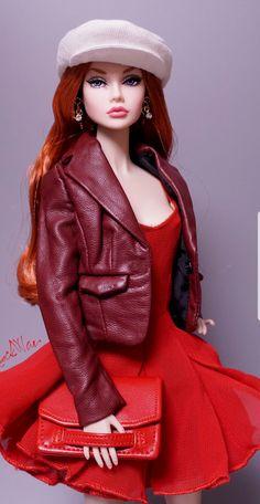 Fashion Royalty Dolls, Fashion Dolls, Fashion Outfits, Billy Ikea, Barbie Hairstyle, Glamour Dolls, Poppy Parker, Barbie World, Barbie Clothes