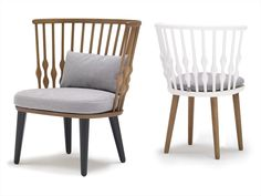 Beech Armchair NUB by Andreu World | Design Patricia Urquiola (2012) http://bit.ly/yGWdfO