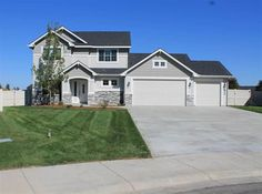 2179 W Henna St. The Lakemore by Riverwood Homes: 4 Bedrooms, 2.5 Bathrooms, Bonus Room, and Office/Den. $319,900. www.rubycreekkuna.com