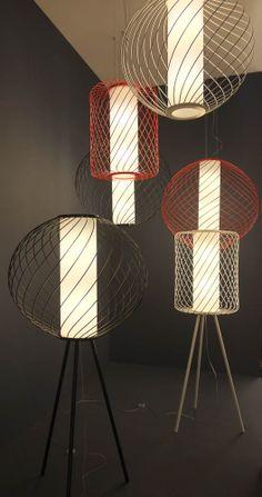 Dix Heures Dix   Wire lighting collection   2014 Frankfurt Light & Building exhibition @Luxologie #LB14