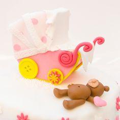 Motivtorte zur Geburt » Hildebrandts Cupcakes