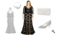 Elegante Abendkleider in XXL & lang... http://www.kleider-deal.de/elegante-abendkleider-xxl-lang-abendoutfit/ #Abendkleider #XXL #Abendoutfit #Kleider #Dress #Outfit #Mollig #GroßeGrößen Dass Abendkleider XXL so schick aussehen können, hatte Peggy erst erkannt, als sie ihr neues Abendoutfit von mir zusammenstellen ließ. Mit 3 tollen Outfit Tipps konnte ich sie richtig glücklich machen. Peggy konnte hier im Shop...