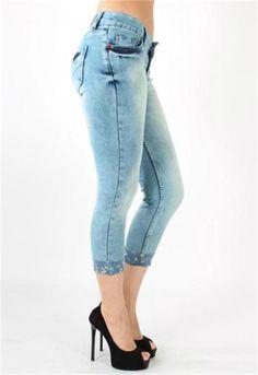 Paçadan Katlamalı Jeans Pantolon | Modelleri ve Uygun Fiyat Avantajıyla | Modabenle