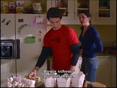 He didn't waste time on small talk. | 19 Reasons Jess Was The Perfect Match For Rory