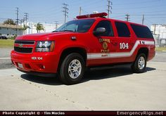 ChevroletSuburbanCommandVernon Fire DepartmentEmergency Apparatus Fire Truck Photo