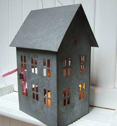 original_Large_Zinc_House_Lantern by Seahorse from notonthehightstreet