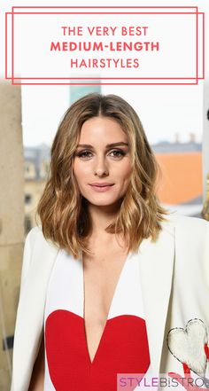 The Very Best Medium-Length Hairstyles