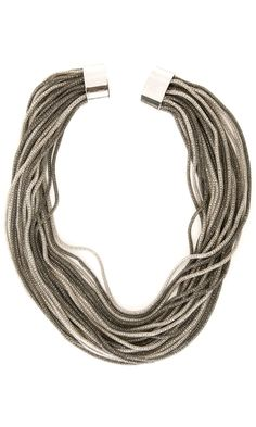 Nanni Silver Tone necklace -  #accessories
