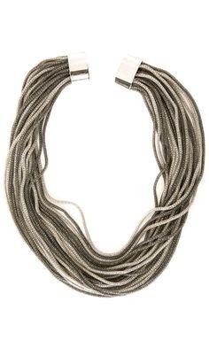 Nanni Silver Tone necklace -  #accessories