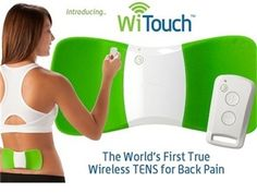 Low back pain can be debilitating. The WiTouch Wearable TENS for Back Pain is a portable solution. Wear it under your clothes at work or play for relief. Increase your comfort and independence with products from Ease Living including this highly rated back pain solution.