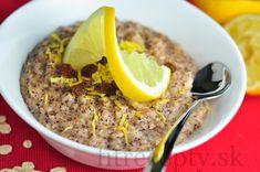 Fitness raňajky s vysokým obsahom bielkovín Granola, Tofu, Smoothie, Oatmeal, Healthy Recipes, Vegan, Breakfast, Fitness, Diet
