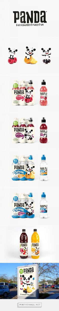 Panda | Branding & Packaging Design | Designed by Robot Food | www.robot-food.com