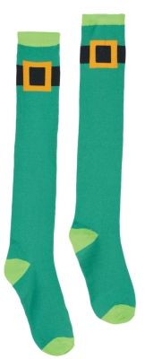 Channel your inner leprechaun with our super tall green Leprechaun Knee Socks with buckle border. Do a jig in our Leprechaun Knee Socks. Our St. Leprechaun Knee-High Socks are printed Thigh High Socks, Knee Socks, Metal Shutters, Porch Welcome Sign, Metal Planters, Porch Signs, Door Signs, St Pattys, Leprechaun