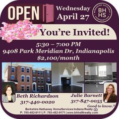 This beautiful Town Home for lease in Indianapolis will be open this Wednesday between 5:00 and 7:30 PM. You're invited to see this luxurious home and fall in love with it! #citylife #luxury #openhouse #goodtoknow