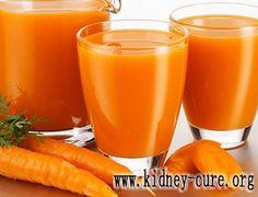 Могут ли пациенты со стадией 3 ХБП(хроническая болезнь почек) пить морковный сок http://www.kidney-cure.org/ckd-diet/746.html