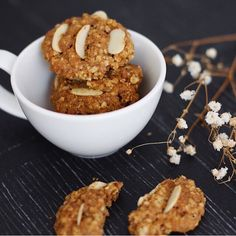 Let's re-live our childhood with almond oatmeal cookies from @hellolalaco  and milk before bedtime. Location: Surabaya