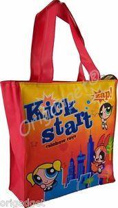 Shopping Bag Shoulder Powerpuff Girls Powerpuff Girl Bag Powerpuff Girls BM621P | eBay