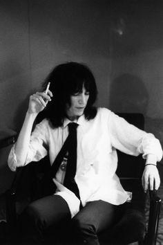 Patti Smith is so freaking cool