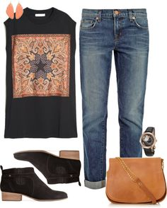 """""""Tomboy chic"""" by eleahs on Polyvore"""
