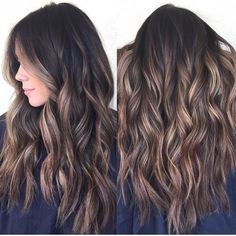 """""""Highlights"""" is a general term that refers to strands of hair that are lighter than the base color they're being laid upon. A highlight only refers to a color t"""