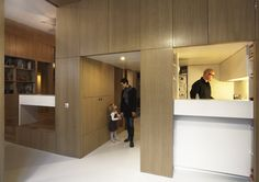 Apartment divided into nine boxes   872ft2/81m2 apartment   Brachard de Tourdonnet  