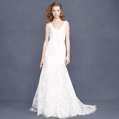 Sara lace gown - for the bride - Women's weddings & parties - J.Crew