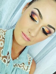 orange by Natalia - Makeup Geek Idea Gallery July 2013