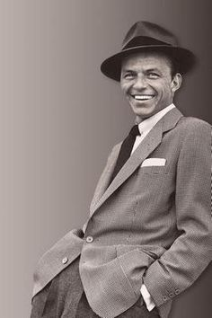 Frank Sinatra Suit Fedora Poster 24x36