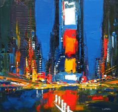 Daniel Castan - city paintings