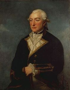 Sir Richard Pearson (1731–1806) Captain of HMS Serapis.