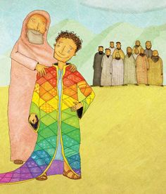 """I've studied it many times over a lifetime-beginning with fun """"coat of many colors"""" crafts in preschool and ending with an emphasis on remaining faithful in trials. Joseph's…"""