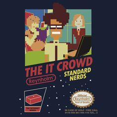The IT Crowd | Pop Up Tee