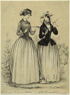 Costume -- Riding -- 1800s