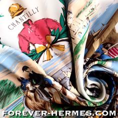 Courses a Chantilly by Maurice De Taquoy is another iconic Hermes Paris Scarf depicting the Horse Race from this city. Now in store in rare large size http://forever-HERMES.com #ForeverHermes a stunning gift for the #horseaddict #horserider #horse lover #MensSuit #mensfashion #mensnecktie #womensfashion #HermesCarre #HermesParis #HermesAddict #HermesCollector