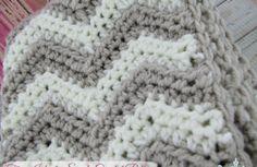 Free Chevron Infinity Scarf Crochet Pattern - Baby To Boomer Lifestyle
