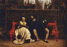 Faust and Marguerite in the Garden PDF by XSquaredCrossStitch