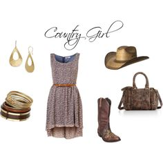 Country Girl, created by jesshehr on Polyvore
