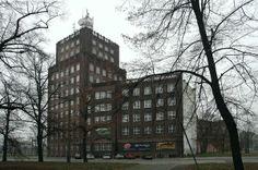 Poczta Główna / Main Post Office / Wrocław, Poland, 11 floors, lothar naumann, 1926-29 Skyscrapers, Mysterious, Poland, Floors, Mystery, Multi Story Building, City, Image, Home Tiles