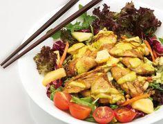 ¿Qué tal si nos proponemos #ComerSano el #finde? Con nuestras #ensaladas lo tienes muy muy fácil ;-) ¿A qué esperas para hacerte un #FreshEating? #Ensalada #Satay