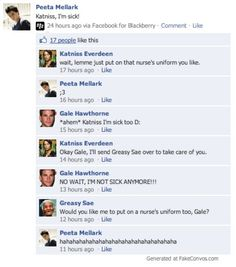 hunger games funny facebook - Google Search