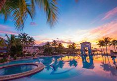 The resort at sunset. | Sandals Resorts | Jamaica