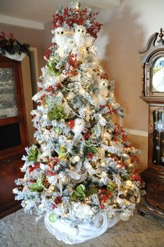 Norman Rockwell Christmas Tree | Norman Rockwell- Tree in Town ...