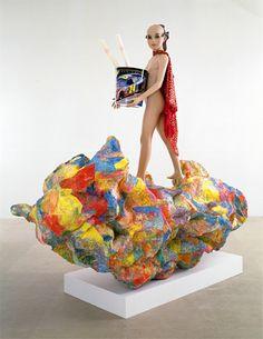 rachel harrison sculpture