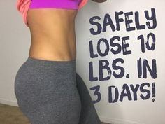 How To Lose 10 Pounds in 3 Days Safely Guaranteed - YouTube