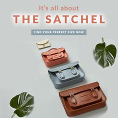 MENS AND WOMENS LEATHER SATCHELS!