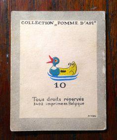 """IVANOVSKY (Elisabeth) Collection """"Pomme d'Api""""  10) Et moi de m'encourir…"""