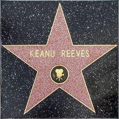 Keanu Reeves Hollywood Walk of Fame Star Hollywood Boulevard, Hollywood Hills, Hollywood Walk Of Fame, Hollywood Stars, Hollywood California, Keanu Reeves House, Keanu Reeves John Wick, Keanu Charles Reeves, Keanu Reaves